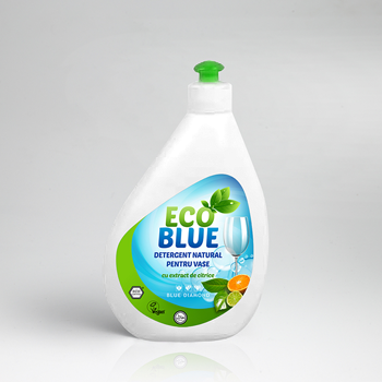 Detergent lichid natural pentru vase