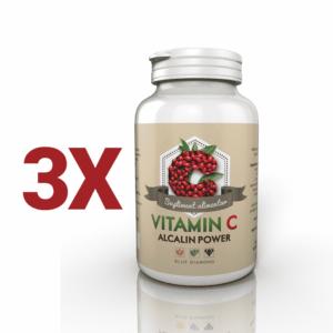 Pachet Vitamina C Alcalina 3 Bucati